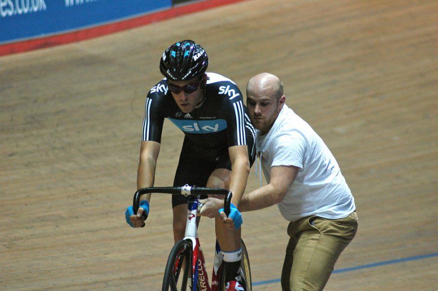 Alex Dowsett Austrailian Pursuit - ©Copyright Chris Dando @Cycling Shorts.