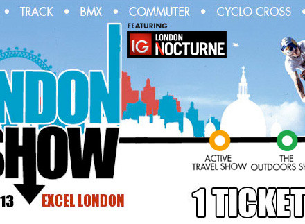 Jaguar Sportbrake London Bike Show Tickets Competition