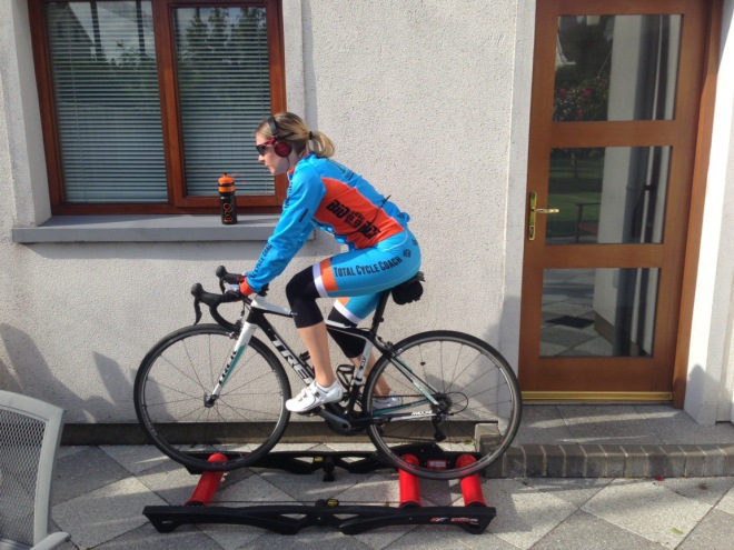 Claire Martin on Rollers