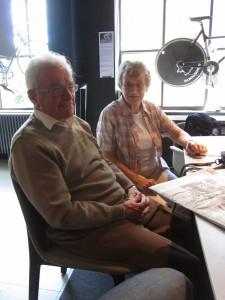 Ken, 84 & Renee, Harrogate, July 2014